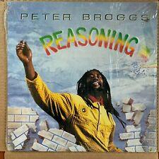Peter Broggs - Reasoning LP Ras Records 1990 Reggae