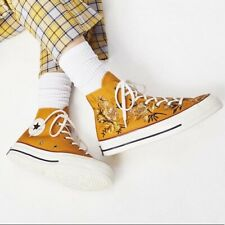 Converse Floral High Top Athletic Shoes