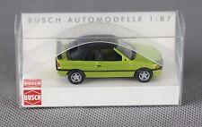 BUSCH 45708 (H0, 1:87) - Ford Escort Cabrio (geschlossen) hellgrün metallic NEU