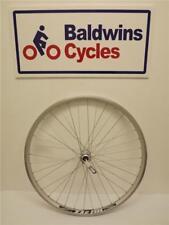 "26"" FRONT Mountain Bike Wheel Double Wall SILVER Rim - Quick Release"