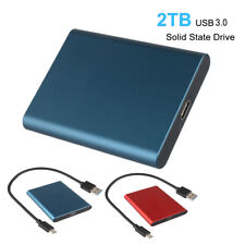 Us Stock Usb 3.0 External Solid State Drive 2Tb Hard Drives for Phone Laptop Mac