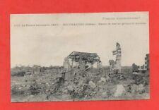 BEUVRAIGNES - Ruines de tout un groupe de maisons 1917   (J6133)