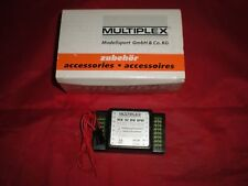 New Multiplex Receiver RX 12 DS IPD 72MHz UNI12 Channel 55918 For RC Airplane