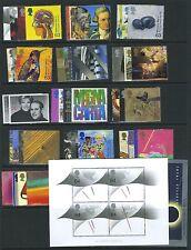 GB Gran Bretagna 1999 COMPLETA tutti i set per ANNO U/M/Nuovo di zecca Gomma integra, non linguellato tutte le Mini/Fogli