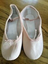 Freed Pink Leather Ballet Shoes Size 2.5