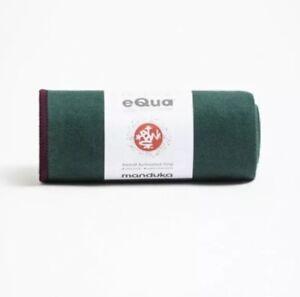 "Manduka eQua Yoga Mat Towel 72"" X 26.5"" Lightweight Thrive"