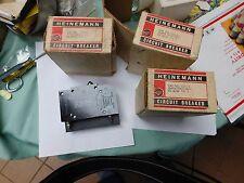 LOT OF 3 NEW  CD2-A3- Heinemann Circuit Breaker 5A 2 Pole 120V