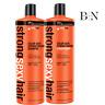 Sexy Hair Fuerte Color Seguro Fortalecimiento Champú & Conditioner1000ml Duo +