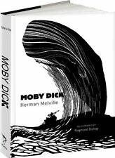 MOBY DICK ~ HERMAN MELVILLE ~ ILLUSTRATED RAYMOND BISHOP ~ GIFT EDITION ~ NEW