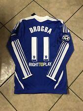 England Chelsea Drogba Montreal Player Issue MatchUnworn Techfit Football shirt