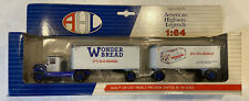 Hartoy AHL Wonder Bread Mack BM Truck Double Trailer Pup 1/64  It's Slo-Baked