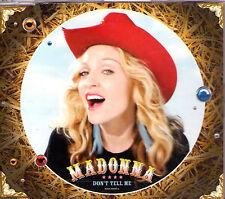 MAXI CD SINGLE 3T MADONNA DON'T TELL ME DE 2000 TBE