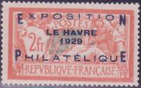 """FRANCE N°257A """"EXPO LE HAVRE"""" NEUF xx TTB, VALEUR:1600€"""