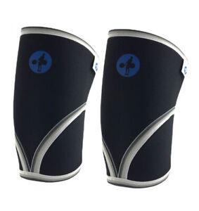 Hookgrip Knee Sleeves 7mm SCR Neoprene 2XL Knee Brace Wrap (Pack Of 2)