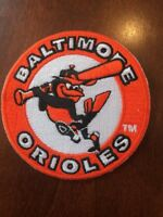 "BALTIMORE ORIOLES vintage MLB iron on patch 3"" X 3"" High QUALITY"