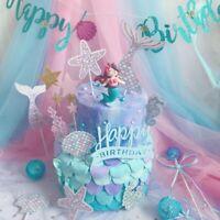 de la décoration gâteau decor cupcake toppers bâtonnets de alimentaire sirène