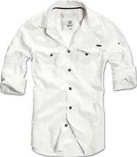 BRANDIT SLIM FIT SHIRT Herren Hemd Men US Worker Vintage Freizeithemd Tarn 4005