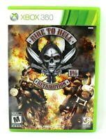Ride to Hell: Retribution Microsoft Xbox 360 X360 Game