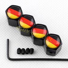 Anti theft Air Dust Cap Wheel Tire Valve Cover For Deutschland DE Germany Flag