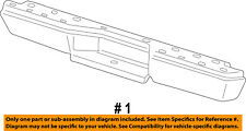 FORD OEM 98-11 Ranger Rear Bumper-Assy 4L5Z17906AA