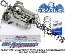 Honda Civic Del Sol B16A A2 A3 Eagle Rods, H Beam with Rod bearings