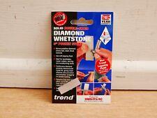 "TREND 3"" POCKET SIZE SOLID DOUBLE SIDED DIAMOND WHETSTONE DWS/P3/FC"