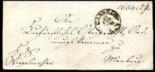 Cassel 1851 lettera anch'Marburg (j3983