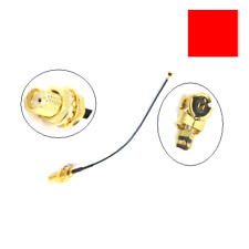 SMA Female Jack To IPX U.FL RF Female Adapter 1.13 Cable Connector 10cm