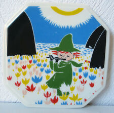 Arabia Finland, Moomin Wall Plate  Who Will Comfort Toffle? 2/6  VERY RARE!