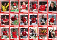 Arsenal 1998 FA Cup winners football trading cards