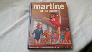 Livre MARTINE et les Sports 1986 éditions Casterman G. Delahaye 8 aventures