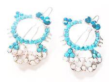 USA Rhinestone Crystal Hair Clip Hello Kitty Cat Kids Child Pin Blue Silver