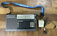 SONY ICF-2010 AIR-FM-LW-MW-SW PLL Synthesized RECEIVER Radio NOT FULLY TESTED