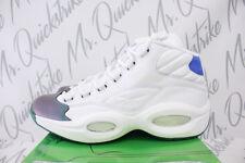 REEBOK QUESTION MID X CURRENSY JET LIFE SZ 12 GREEN VITAL BLUE WHITE CN3671