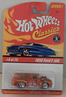 1956 Ford F-100 Panel Truck Spectra Orange Red Line Hot Wheels Classics 2005