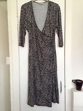 Petite 3/4 Sleeve Cocktail Wrap Dresses for Women