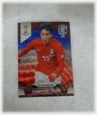 2014 Panini Prizm World Cup Blue Red Wave Park Chu-Young - Korea Republic #74