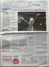 Journal LA CROIX (février 2015) : VERONIQUE SANSON
