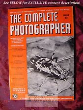 RARE The COMPLETE PHOTOGRAPHER 1942 Issue 23 Volume 4