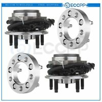 """2 Front Wheel Hub Bearing&2X 1""""5x4.5 Wheel Spacers Fits Ford"""