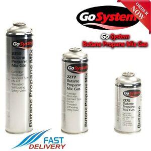 GoSystem Butane Propane Mix Gas EN 417 Cartridge Threaded Self Sealing Valve