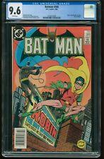 Batman # 368 CGC-GRADED 9.6 NEAR MINT+ WHITE PAGES Jason Todd 1988 DC G-435