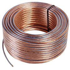 100 m Ring 99,99% OFC Kupfer Lautsprecherkabel 2 x 2,5 mm² Made in Germany 100m