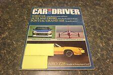 CAR AND DRIVER CAMARO Z28 APRIL 1980 VOL.25 #10 9248-1 [LOC.ELK] (BOX D) #574