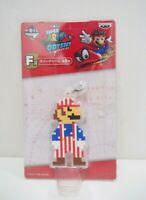 """Super Mario Odyssey USA Banpresto Prize Kuji Keychain Charm Toy 3.5"""" Japan"""