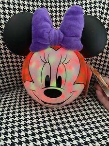 Halloween Light Up Disney Minnie Mouse Pumpkin - Brand New Decoration Prop