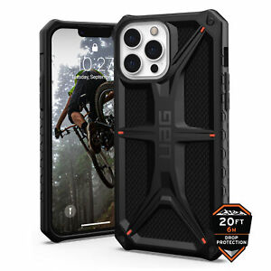 UAG Monarch Tough Rugged Case for Apple iPhone 13 Pro Max made with Kevlar Black
