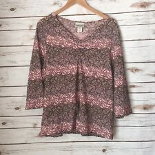 Fashion Bug Pink Brown Chocolate Lace Overlay Career Casual School 18/20W