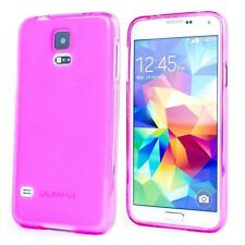 Slim Clear TPU Silicone Gel Rubber Soft Skin Case Cover For Samsung Galaxy S5