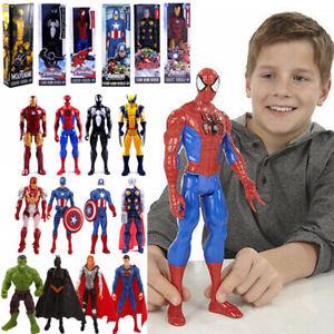 Kids Avengers Marvel Figures Captain America Superhero Hulk Spiderman Model Toys